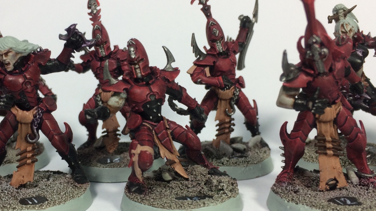 Bloodbowl's Nasty - kitbash Dark Elf Team